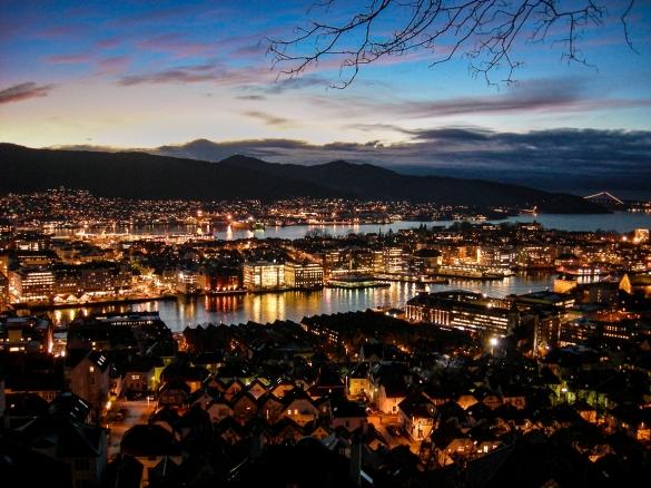 bergen-om-natten