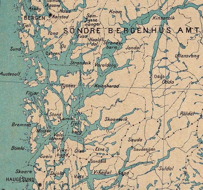 Bilde 3. Kart fra 1918